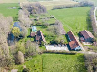 Hoeve op ± 48.000 m² - heel rustig en landelijk gelegen in Tielt. Kom deze hoeve vrijblijvend bezichtigen tijdens onze ERA Open Huizen Dag
