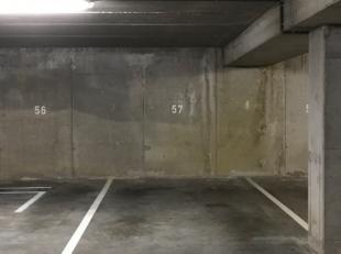 CONTACT: e-mail hanne@vicusvastgoed.be of bel 0478/65.88.15<br /> Te huur: autostaanplaats nummer 57 r op verdieping -2 (binnenrijden met toegangscode