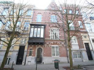 Luxueus ruim appartement (130m²) in Europese wijk in rustige éénrichtingsstraat nabij (Wetstraat en Belliardstraat),vlakbij openbaa