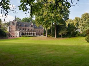 Exclusief domein van 2,27ha met prachtig kasteel, conciërgewoning en mooi paviljoen. Het kasteel is gebouwd in neoklassieke stijl waarvan het oor