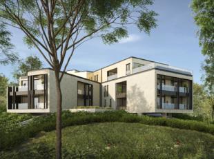 Ruim duplex parkappartement kortbij het centrum - Project KESTEMONT<br /> Residentie KESTEMONT past door zijn uitgesproken vorm met vier armen op het