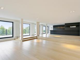 Unieke instapklare penthouse met een oppervlakte van maar liefst 238 m2! Deze zeer lichtrijke penthouse bestaat uit een inkomhal die leidt naar een ze
