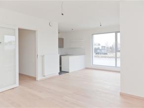 Waterloo, proche du centre, dans la résidence des Jardins du Vallon, appartement neuf de 90m² comprenant: hall d'entrée, toilettes