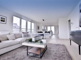 WOLUWE ST LAMBERT  « LES JARDINS DE WOLUWE », Appartement au 7ème étage de 148m² et comprenant : Spacieux living - terr