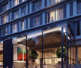 Palatium Â, Appartement 2 chambres dans une rue au calme d?une surface de 85² au troisième étage avec une belle terra