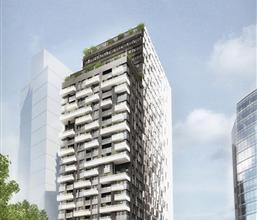 """ETTERBEEK : Kies voor een exclusieve levensstijl, met """"THE ONE""""! Prachtig ruim appartement van 106 m² met 2 slaapkamers gelegen op de 2e verdiepi"""
