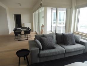 BRUXELLES, (33C) au 33ème étage de la toute nouvelle et prestigieuse tour UPSITE alliant luxe, modernité et sécurit&eacute