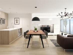 DE WERKEN ZIJN BEGONNEN! BRUSSEL – RESIDENTIE DUCAL Prachtig appartement met een oppervlakte van 87 m² op de eerste verdieping, met 2 slaapkamers