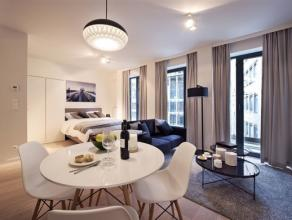 """OPEN DEUR ZATERDAG 21/10 VANAF 11U TOT 15U (Jan Jacobsplein 6 - 1000 Brussel) """"Palatium"""", appartement met een oppervlakte van 80 m² met 2 slaapka"""