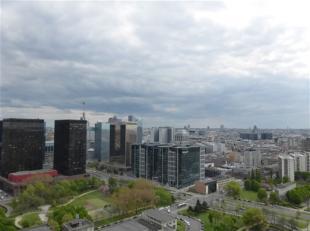 BRUXELLES, (24F) au 24ème étage de la toute nouvelle et prestigieuse tour UPSITE alliant luxe, modernité et sécurit&eacute