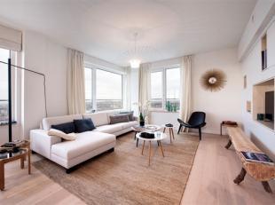 BRUSSEL -UP-site, in een prachtige wolkenkrabber in een trendy wijk. Ontdek dit appartement van 167 m², met 3 sl.k. en een terras van 10 m²