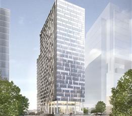 BRUSSEL: Kies voor een exclusieve levensstijl, met THE ONE! Penthouse van 64 m² met 1 slaapkamer gelegen op de 21e verdieping. Geniet van een ade