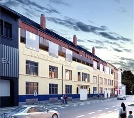 Brussel: MERCATOR GARDEN: De beste prijs-kwaliteitsverhouding in Brussel-Stad voor dit ruime appartement van 86 m² met 1 sl.k. In een levendige e