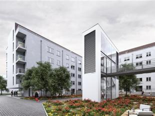 Brussel: MERCATOR GARDEN: De beste prijs-kwaliteitsverhouding in Brussel-Stad voor dit ruime appartement van 102 m² met 2 sl.k. en een terras van