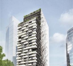 BRUSSEL: Kies voor een exclusieve levensstijl, met THE ONE! Prachtig ruim appartement van 106 m² met 2 slaapkamers gelegen op de 2e verdieping +