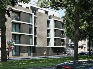 LEMON TREE GARDENS  LAKEN: Mooi appartement van 87 m² met 2 slaapkamers en een terras van 10 m², op de eerste verdieping van een klein gebou