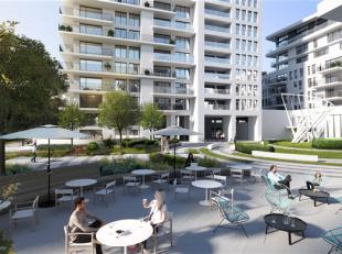 LEEF IN EEN UITZONDERLIJK APPARTEMENT!<br /> NAUTILUS TOWER  Een adembenemend uitzicht over Brussel vanop uw terras van 69 m² op de 15e verdiepin