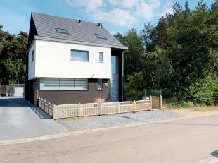 Riante woning residentieel gelegen midden in het groen, gebouwd in 2014 met ultra luxe afwerking wacht op zijn nieuwe eigenaars! Zoekt u een recente w