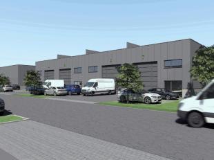 Nieuwbouw KMO-units vanaf 170 m² in het ID-Park, gelegen langs de Brusselbaan in Affligem. De KMO-unit is uitgerust met een grote sectionale poor