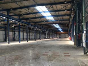 A louer entrepôt de 5000 m² avec portes sectionnelles + bureaux (possibilités de 40 m² à 2000 m²) avec grand parkin