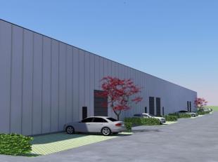 5 nieuwbouw KMO units van elk +/- 510m² te huur in Wilrijk! De units zijn zowel combineerbaar als afzonderlijk te huur. Het is mogelijk om door d
