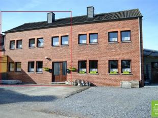 Melreux (Hotton), située dans une rue calme, à proximité des commerces et de la gare, spacieuse maison comprenant 3 chambres &agr