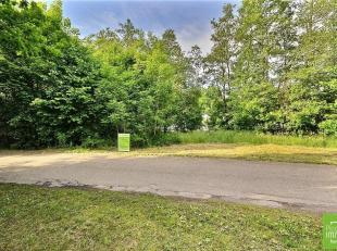 Vielsalm-centre, situé dans une rue très paisible en bordure de ruisseau, terrain à bâtir de 1.271 m² de superficie pl