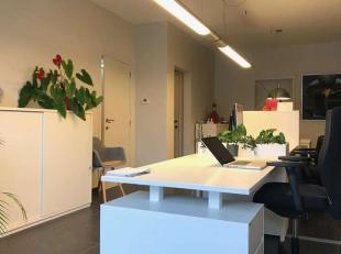 Uitstekend gelegen kantoor met parking voor de deur!Keukentje en toilet aan de achterzijde.