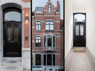 Unieke renovatie van een stijlvol herenhuis van begin 20ste eeuw met behoud van de charme van weleer in combinatie met eigentijds design, comfort en p