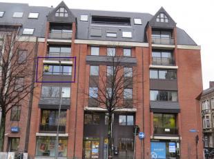 Prachtig gemeubeld appartement te huur met 2 ruime slaapkamers, grote living met prachtig zicht op het Ladeuzeplein, aparte volledig ingerichte keuken