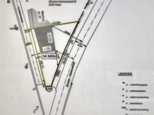 Mooi gelegen perceel bouwgrond, gelegen langs een nieuwe weg thd huisnummer 21.<br /> Bouwvoorschriften en eventueel plan met ontwerp woning op aanvra