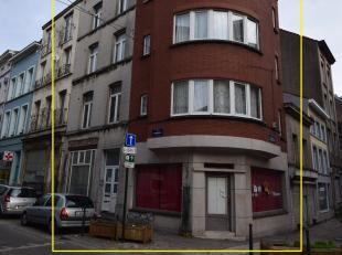 Rue Camusel 1 et Rue d'Anderlecht 119, dans le centre urbain de Bruxelles, à proximité du centre historique: Immeuble de coin (anciennem