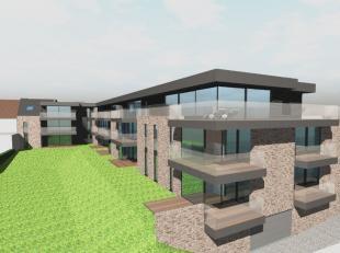 LAATSTE APPARTEMENT in dit moderne en zeer mooi afgewerkte project, bestaande uit 19 appartementen, gelegen op de hoek van de Provincieweg en de Vonde