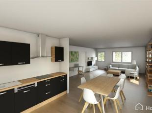 Appartement 2 chambres idéalement situé à deux pas du centre-ville de Mons (côté Hyon), 66 m² effectivement hab