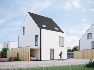 Nieuwe verkaveling van 8 moderne, energiezuinige nieuwbouwwoningen met tuin & carport voorzien van alle huidige comforteisen: vloerverwarming op h