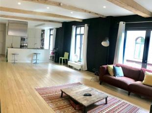 Superbe loft moderne dans une résidence sécurisée ! <br /> Le loft fait 117m² de superficie habitable, très bien situ