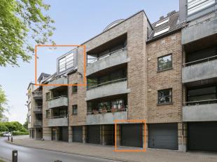 Voor een bezoek of meer info bel 054/69.39.34 - Op een uitstekende ligging aan het stadspark in Ninove bevindt zich dit ruime duplexappartement(148 m&