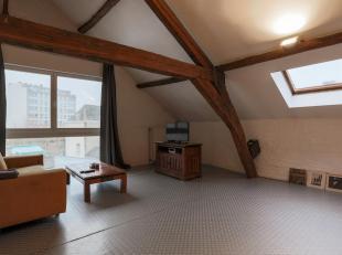 Karaktervolle loft van om en beide 110 m2 in hartje Brussel, gelegen in de Kaaienwijk, op wandelafstand van het Kanal-Centre Pompidou<br /> in een str