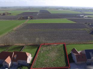 Unieke villa bouwgrond gelegen tussen Wenduine & De Haan In doodlopende straat. Zuid georiënteerd perceel met magnifiek polderzicht, op wande