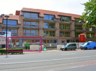 """In deze prachtige nieuwbouw residentie """"Hove Vlaendren"""" is deze handelsruimte gevestigd met een oppervlakte van 200m².<br /> Deze lichtrijke ruim"""
