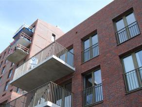 Appartement 2de verdieping Wetteren Project W2O, Appartement op de 2de verd. (B10), Marktdreef 30 B24 Woonkamer-Open keuken, badkamer met inloopdouche