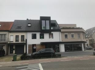 Nieuwbouw appartement van 55m² met 1 terrassen van 37m².<br /> <br /> Indeling: Inkomhal, leefruimte met open keuken die toegang geeft tot h