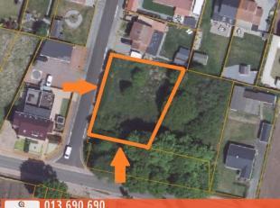 Zeer rustig gelegen hoekperceel (Rodeheide - Begijnenwinning) van maar liefst 9 A 80 CA voor open bebouwing, gelegen nabij het centrum van Tessenderlo