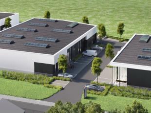 NIeuwbouw KMO unit van 163 m2 te huur à 900€/maand excl. btw.<br /> <br /> Voorzien van grote sectionale poort 4m x 4m20.<br /> <br /> In opbou