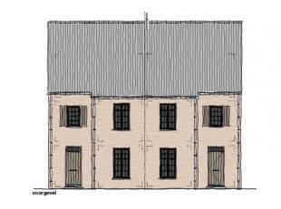 Te bouwen langs de Reitveld te Boekt-Zolder.  Charmante half-open bebouwing van 220 m² (incl. zolder met vaste trap) met max. 4 slaapkamers. Rust