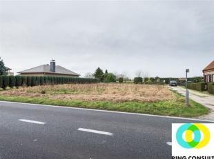 Tussen Peutie en Houtem vindt u deze brede bouwgrond, geschikt voor een open bebouwing. <br /> De breedte van de grond zorgt voor een enorme bouwbreed