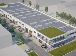 """ZONING NORD DE WAVRE : Projet en construction disponible fin 2019 - début 2020! ESPACES ENTREPOT NEUFS DIVISES EN UNITES. Choix des surfaces """"&"""