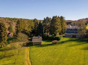 Dans un cadre buccolique et à côté d'une zone Natura 2000, villa de +/- 200m² construite sur un superbe terrain d'1 hectare 2