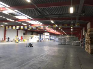 Zoning-Nord de Wavre, Très beau bâtiment industriel de 5.600m² comprenant 5.060m² d'entrepôt & atelier + 540 m²