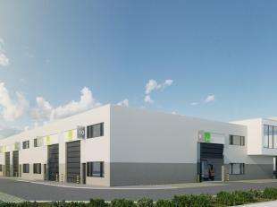 ZONING NORD DE WAVRE : Espace entrepôt 143 m² à louer dans un projet tout neuf | Disponible dès janvier 2020 | Premièr